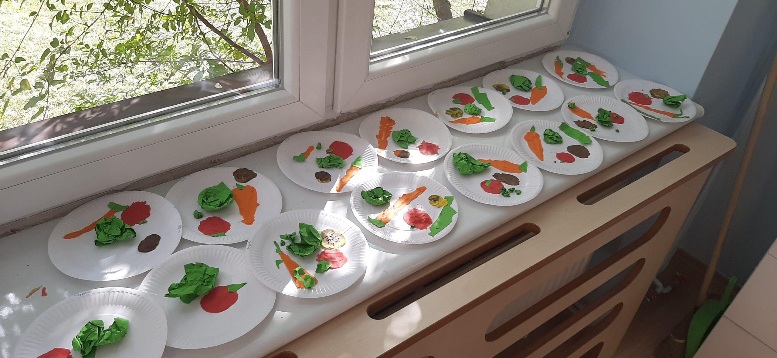 Warzywa na talerzu - Leśne Ludki
