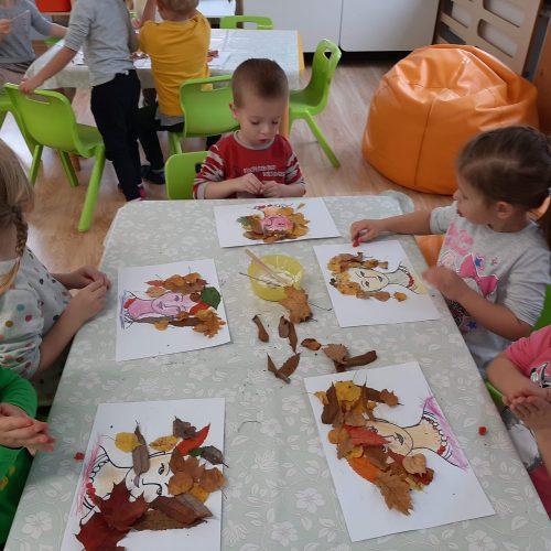 Pani Jesień - Leśne Ludki